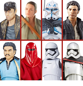 Star Wars: The Black Series Wave 26 Set of 8 Figures
