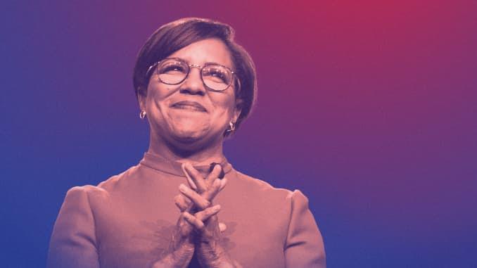 A próxima CEO da Walgreens, Rosalind Brewer.