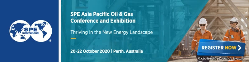 SPE Asia Pacific Oil & Gas Conference and Exhibition (APOGCE) 2020