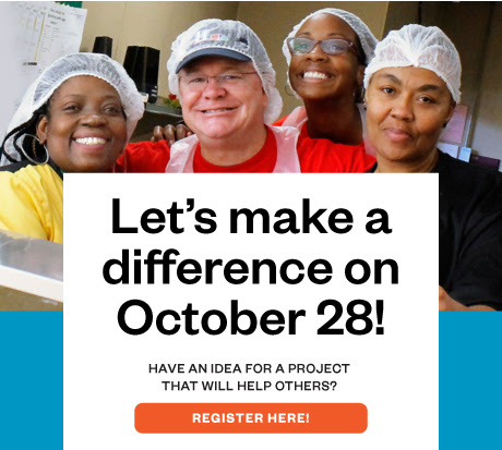 Let's make a difference on October 28!
