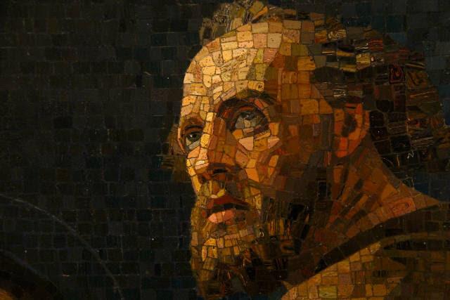 mosaic of John the Baptist