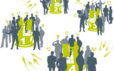 Figuration d'un outil d'intelligence collective - le world cafe