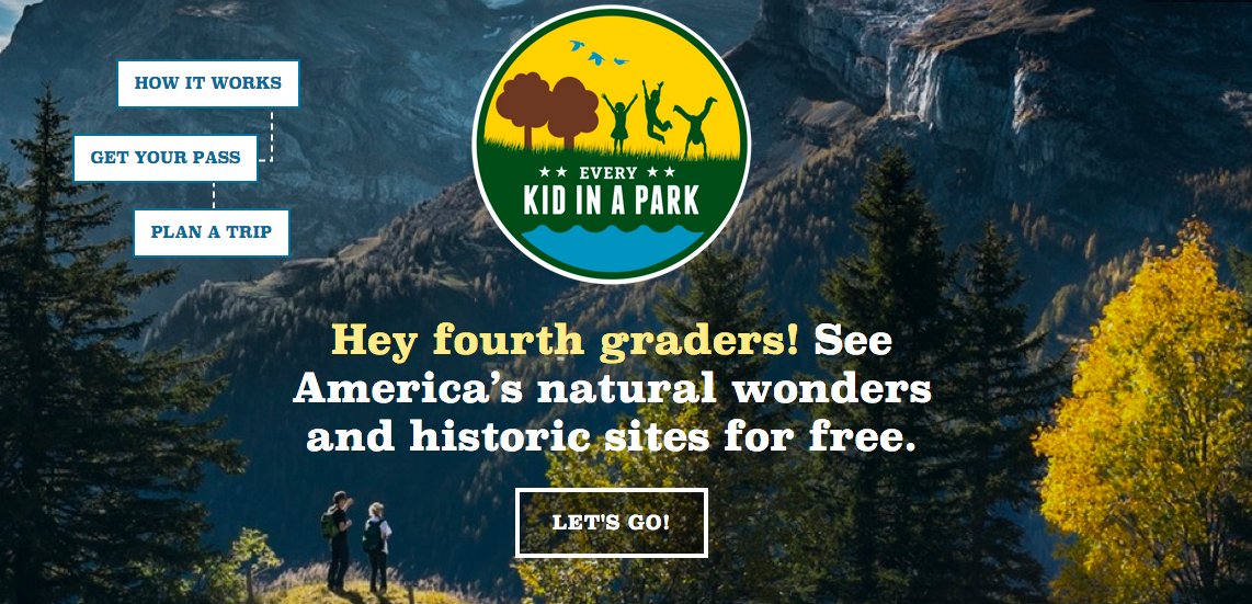 4th graders get in free at national parks4th graders get in free at national parks: https://everykidinapark.gov/
