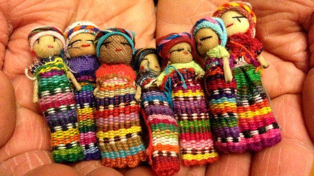 Toy dolls from Guatemala