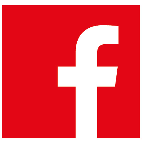 Facebook-flat-red