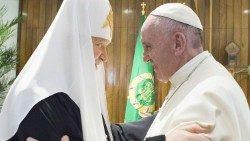 Papa Francisco  Patriarca Kirill  diálogo
