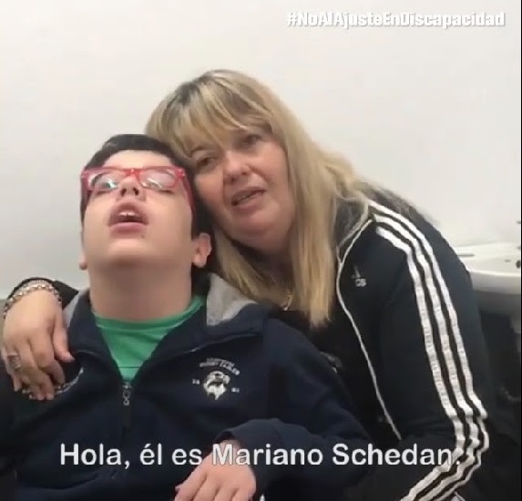 #NoAlAjusteEnDISCAPACIDAD vídeo