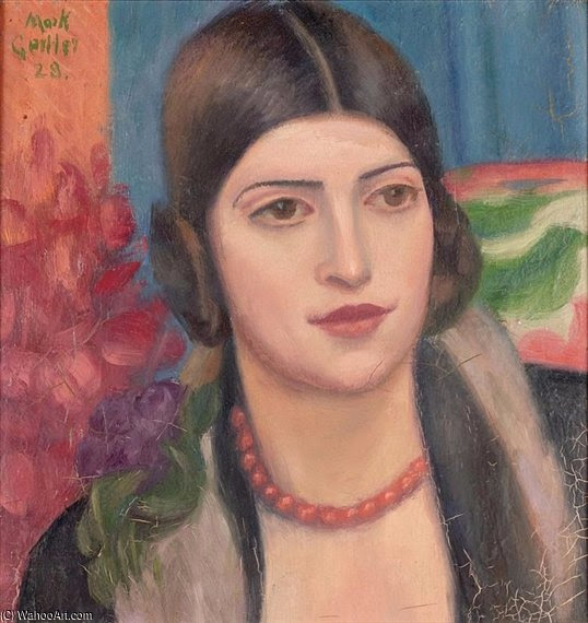Mark_Gertler-Portrait_Of_A_Young_Woman (538x570, 258Kb)