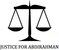 Justice for Abdirahman Graphic