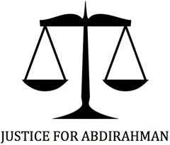 Justice for Abdirahman Graphic