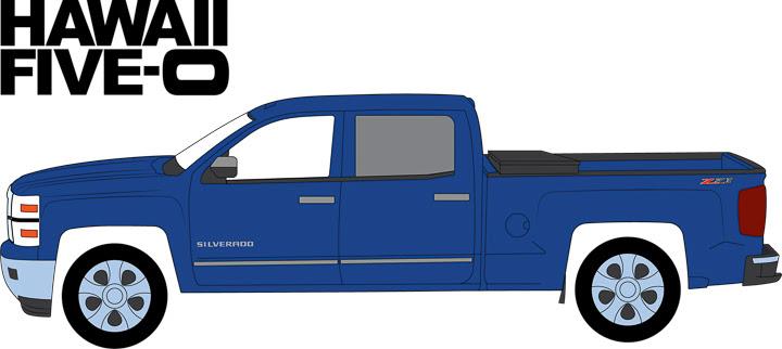44760-E 1:64 Hollywood Series 16 ft. a 2014 Chevrolet Silverado – Hawaii Five-O (Current)