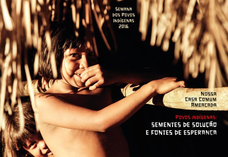Semana dos Povos Indígenas 2016. foto: povo Xerente, TO. crédito: Jorge Valente