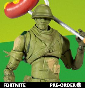 Fortnite Plastic Patroller Premium Action Figure