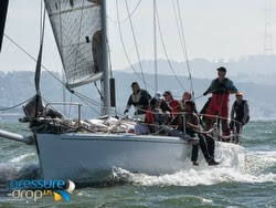 J/120 sailing San Francisco Bay