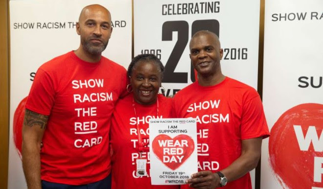 Show racism the red card event