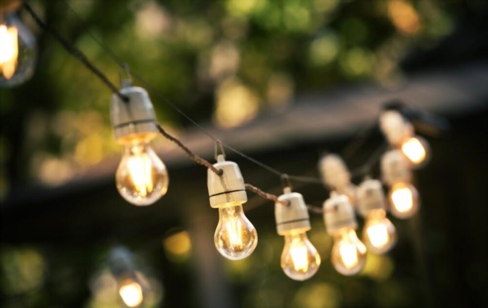 luces de jardin para tener una casa feliz