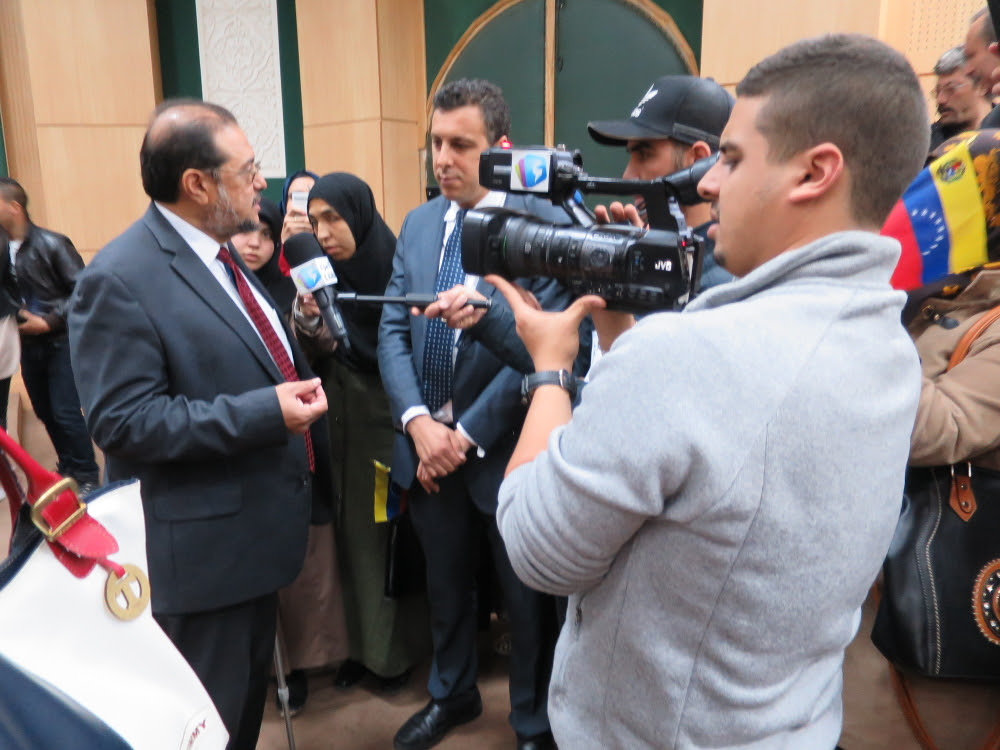 Entrevistas realizadas por varios medios de comunicación en el marco del segundo   aniversario del fallecimiento del Comandante Eterno
