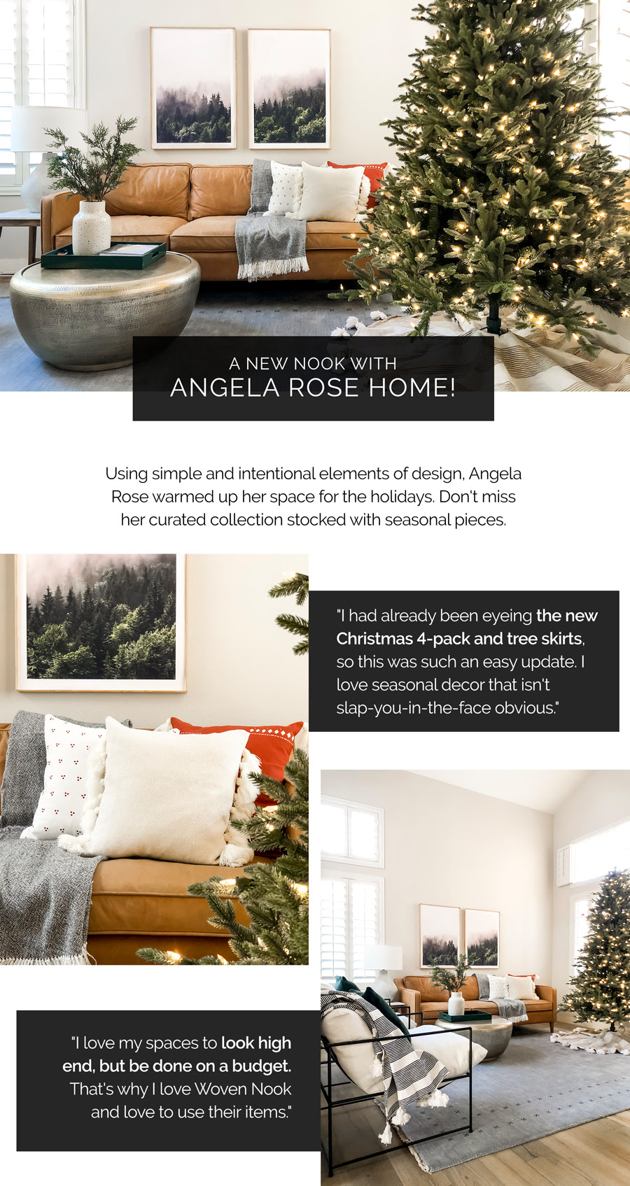 shop a new nook with angela rose home