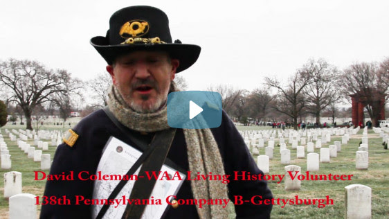 Wreaths Across Americas Living History Project 2017