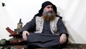 Why was the Islamic State's caliph al-Baghdadi given Islamic burial rites?