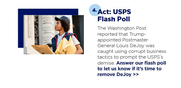 Act: USPS Flash Poll