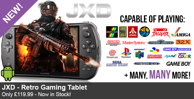Retrogaming, Retro Gaming, Retro Gamer, Retrogamer, JXD Retro Gaming Tablet, Funstock