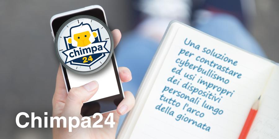 Chimpa24: una soluzione per contrastare cyberbullismo ed usi impropri dei dispositivi personali lungo tutto l'arco della giornata