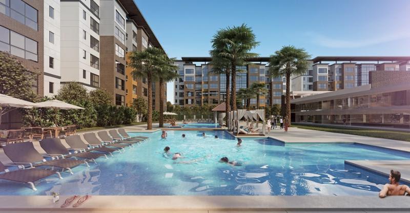 sycamore condo hotel pools