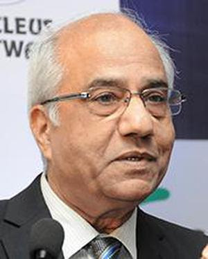 HYDERABAD, 15/07/2014: Former Judge of the Supreme Court of India and Chairman of Financial Sector Legislative Reforms Commission (FSLRC), B.N. Srikrishna, addressing at FINSEC 2014, the 2nd Financial Sector Conclave, organised by the Federation of Indian Chambers of Commerce and Industry (FICCI) in Hyderabad on July 15, 2014. Photo: P.V. Sivakumar