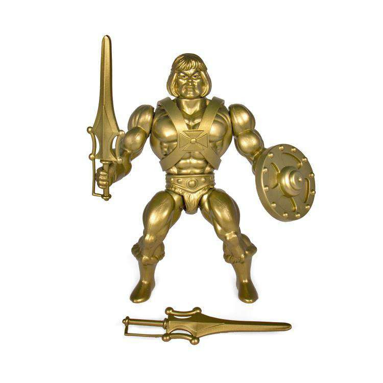 Image of Masters of the Universe Vintage Wave 3 - He-Man (Gold Statue)