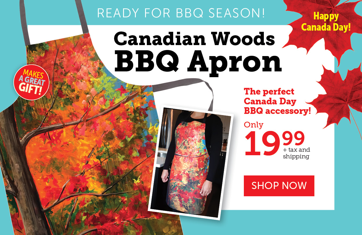 Canadian Woods BBQ Apron