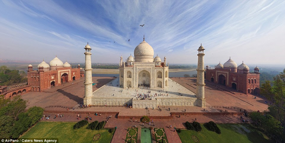 See the Taj Mahal from
