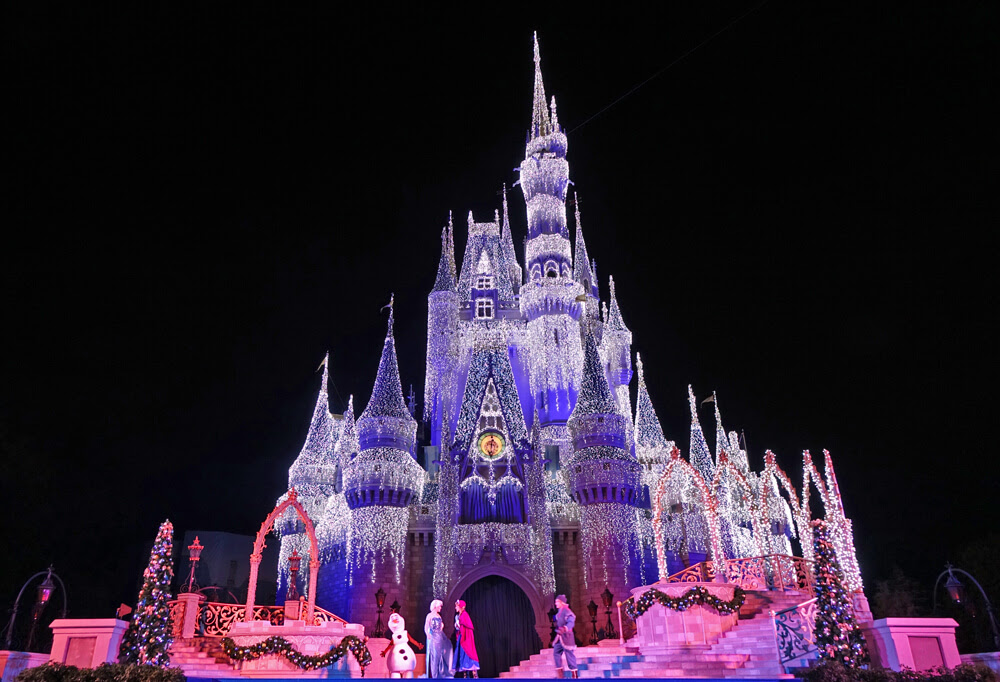 Disney World Holiday Crowds - A Frozen Holiday Wish