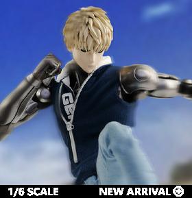 One-Punch Man Genos (Season 2) Deluxe 1/6 Scale Figure