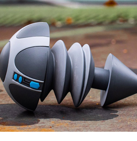 The Iron Giant Bolt Vinyl Replica