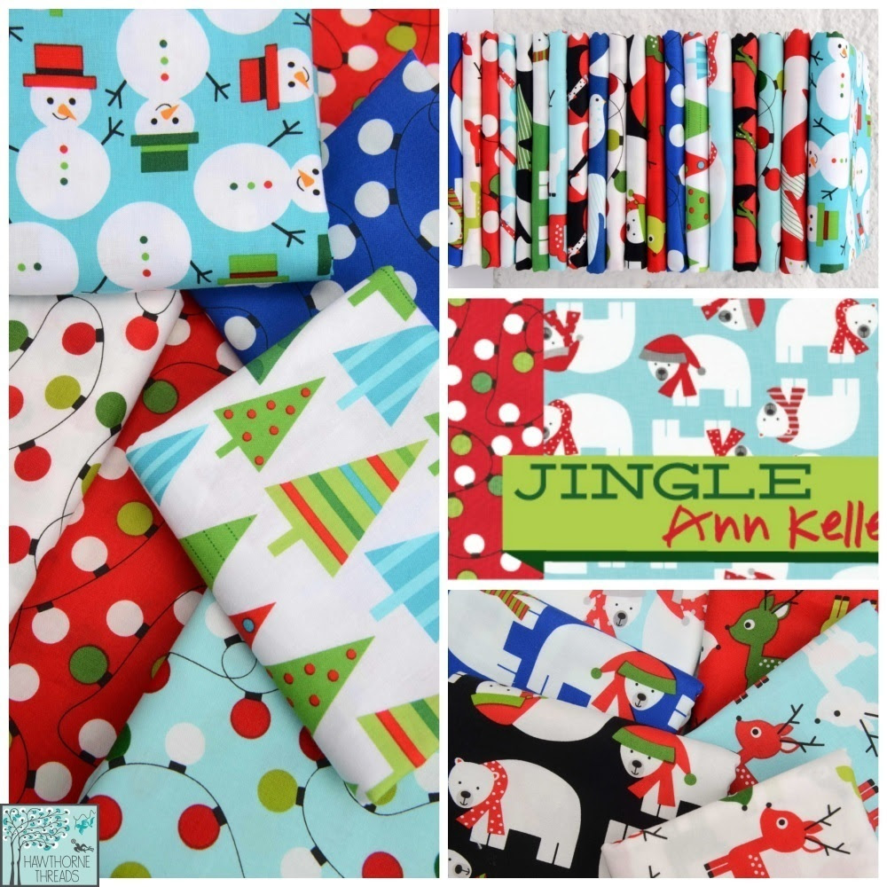 Jingle Fabric Poster