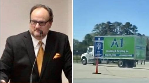 Jovan Pulitzer says Georgia Called in Trucks to Get Rid of the Evidence in Fulton County He is Supposed to be Scanning! Pulitzer-shredder-