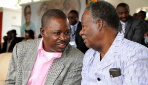 President Sata and Secretary General  Kabimba