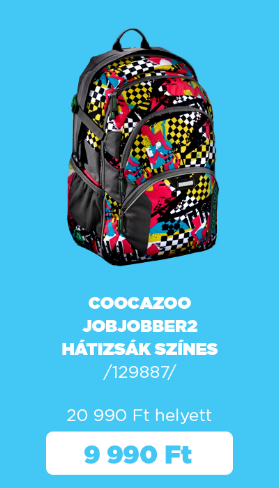 Őszi készletkisöprés - Coocazoo JobJobber2 hátizsák színes