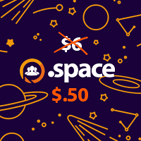.SPACE for $0.50