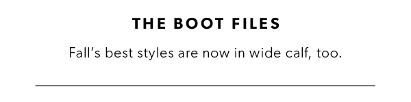 The Boot Files