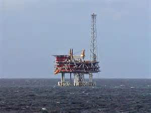 the north sea platform