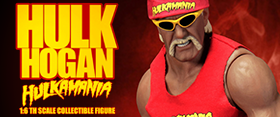 1/6 SCALE HULKAMANIA HULK HOGAN FIGURE
