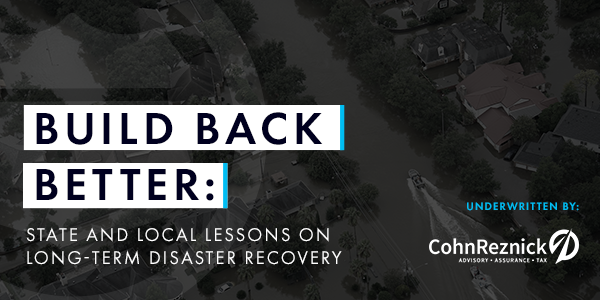 Hear from the experts leading long-term recovery in Texas and New Jersey
