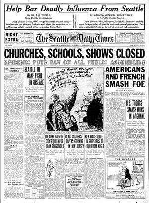Seattle newspaper influenza 2018