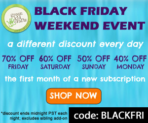 Green Kid Crafts Black Friday Coupon