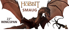 THE HOBBIT: THE BATTLE OF THE FIVE ARMIES SMAUG ACTION FIGURE EXCLUSIVE