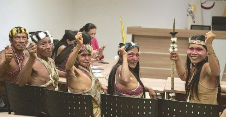 Tribo da Amazônia ganha ação judicial contra gigante do petróleo