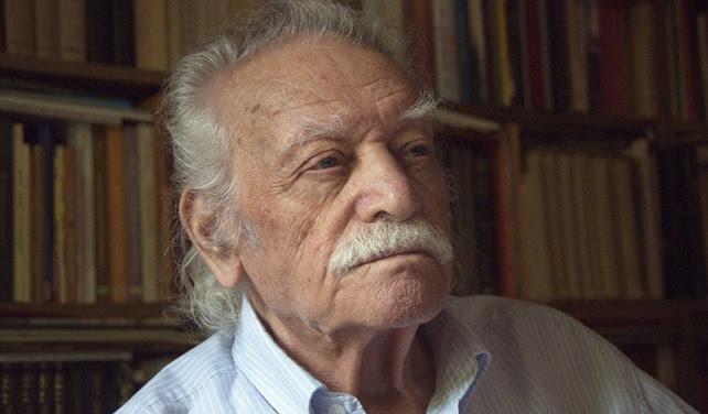 El irreductible Manolis Glezos, de 91 años, elegido eurodiputado por Syriza.- EFE
