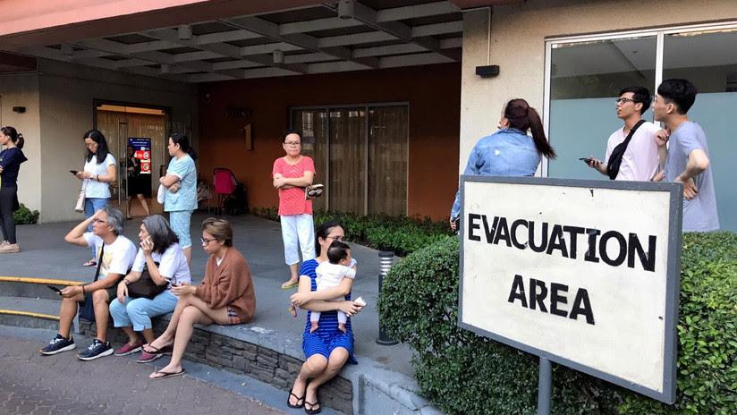 Mueren 8 personas por derrumbes causados por el sismo de magnitud 6,1 registrados en Filipinas